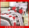 Hot Selling Brushed Fabric Cheap Bed Cover Set