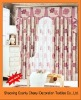Hot sale 100%polyester printed blackout curtains
