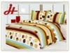 Hot sale! Peach skin bedding set/ home textile