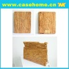 Hot sale Wooden ipad 2 leather case