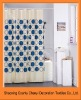 Hot sales 100%Polyester shower curtain