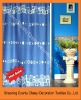 Hot sales 100%Polyester shower curtain fabric