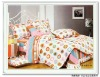 Hot sell 4 pcs print bed sheet sets