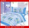 Hot selling-100% polyester blue comforter sheet-yiwu taijia home textile