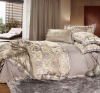 Imitated silk fabric jacquard embroidery four bedding sets