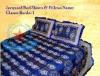 Jacquard Embroidery Bed Covers & Pillows Bed Sheets