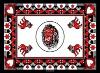 KG4.3--WHITE LION COTTON KANGA FABRIC