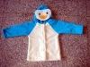 Kids Coral Fleece penguin Bathrobe