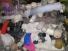 Knitted plain light (Remnants) stock
