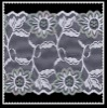 Knitted raschel lace