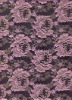 LA-8088 Knitted lace fabric in Nylon with Gold thread