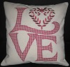 """LOVE"" Cushion cover"
