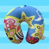 LP004-123 transfer printing microbeads travel pillow