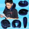 LRP004-1 U shape travel pillow with reading light