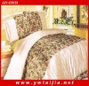 LUXURY Comfortable And Printed Imitation Silk Sheet Set
