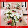 LUXURY Comfortable Emulational Silk Wedding Bed Set