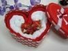 Latest 100% cotton cake towel gifts set(WBC-017)