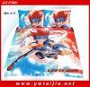Latest 100%cotton hot sale children cartoon bedding set
