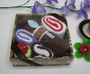 Latest 100% cotton towel cake gifts set(WBC-048)