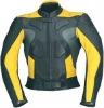 Leather Motorbike Safety Jacket