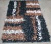 Leather Shaggy Rug