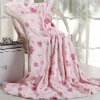 Leisure soft touch fleece blanket