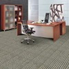 Level loop carpet tiles