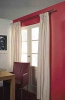Linen-look curtain