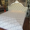 Lozenge cotton bed sheets