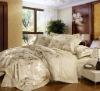 Luxurious High Quality 300TC cotton Jacquard Bedding Set