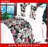 Luxury Beautiful Imitated Silk Duvet Covers Bedding