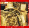 Luxury Beautiful Imitation Silk Bed Quilt Cover