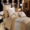 Luxury Five star Hotel bedding set-cotton jacquard