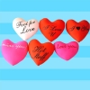 Lycra and polyester promotional valentine gifts