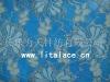 M1048 silver nylon spandex lace fabric