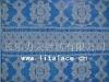 M1049 nylon spandex allover lace fabric