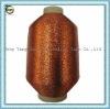 MX Type Metallic Yarn Lurex polyester yarn copper color