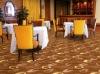 Machine made carpet for hotel restaurants