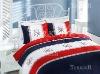 Maritime bedlinen printed reactive on high quality percale
