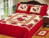 Meiyi Ryan 2012 hot selling elegant 100% polyester blanket