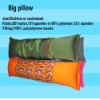 Micro beads cushion sleeping pillow
