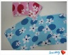 Micro fiber quick-dry flower pattern baby towel