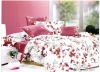 Microfiber Reactive Printed 4pcs bedding set