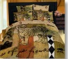 Middle East Style!100%Combed Cotton Reactive Printed Bedding Set