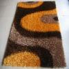 Modern design shaggy carpet