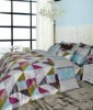 Modern style cotton bed sheet, Aldin with Mineral fiber