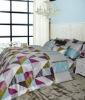 Modern style cotton bedding set, Aldin with Mineral fiber
