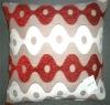 Multicolor Chenille Cushion Cover