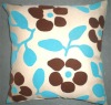 Multicolor Flocking Cushion Cover