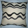 Multicolour Flocking Cushion Cover